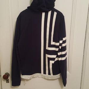 Tory Sport Navy Sweatshirt Hoodie